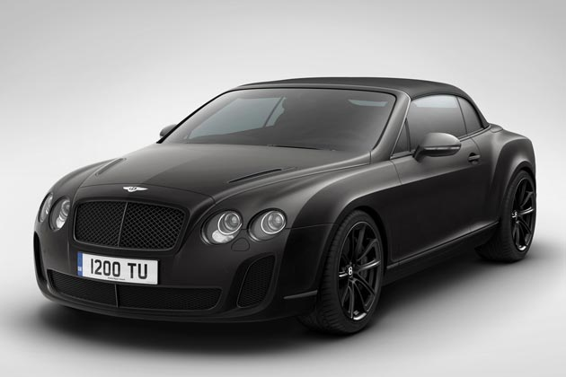 Special Edition Bentley Continental Supersports Wins Ice Speed Record