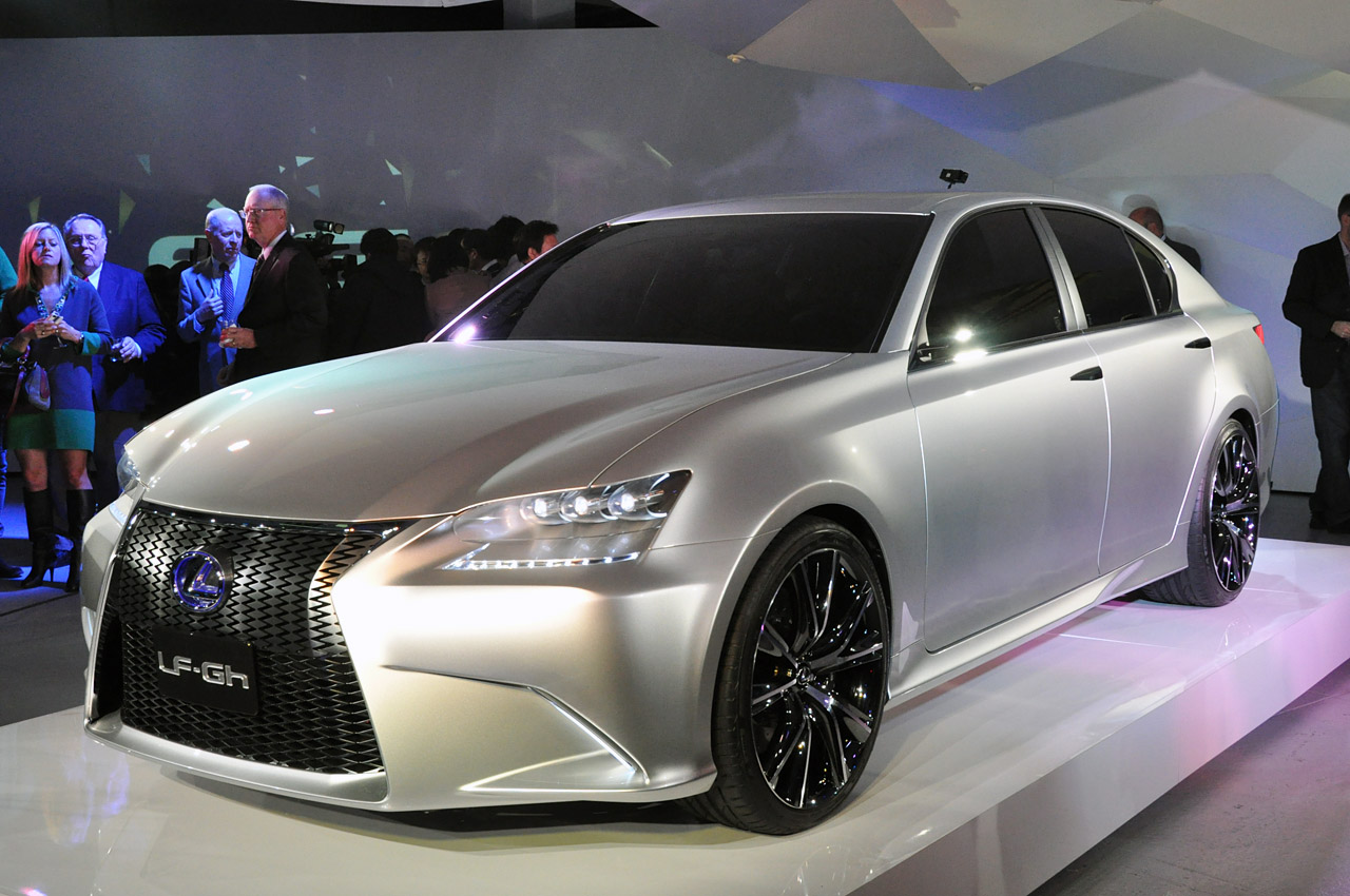 Lexus Steps Into The Future With The Lf Gh
