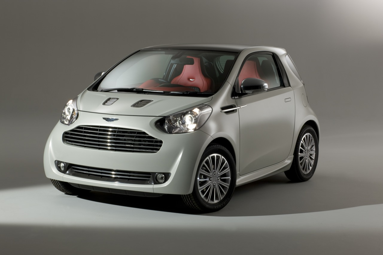 Aston Martin Cygnet Fuses English Luxury and Urban Utility