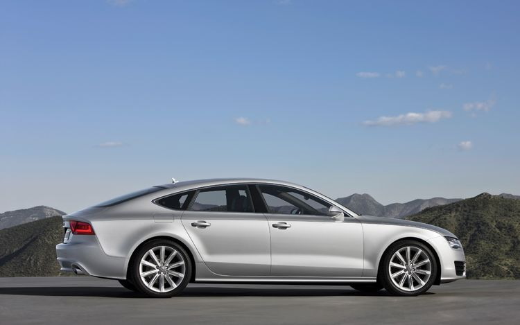 2012 audi a7 offers future forward optimism with style. Black Bedroom Furniture Sets. Home Design Ideas