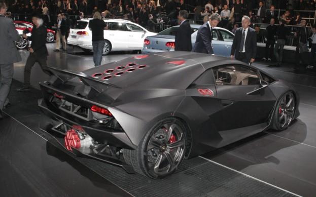 Lamborghini Sesto Elemento Concept Selling For 2 9m