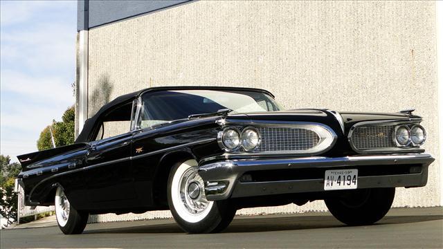 1959 Pontiac Bonneville On Auction Block In Scottsdale