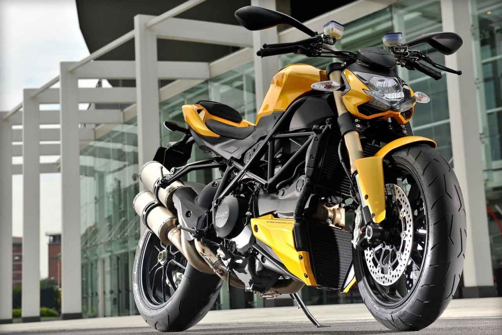 Ducati Streetfighter is the Perfect Desert Bike