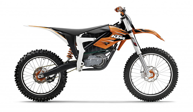 Ktm Debuts Street Legal Electric Dirt Bike