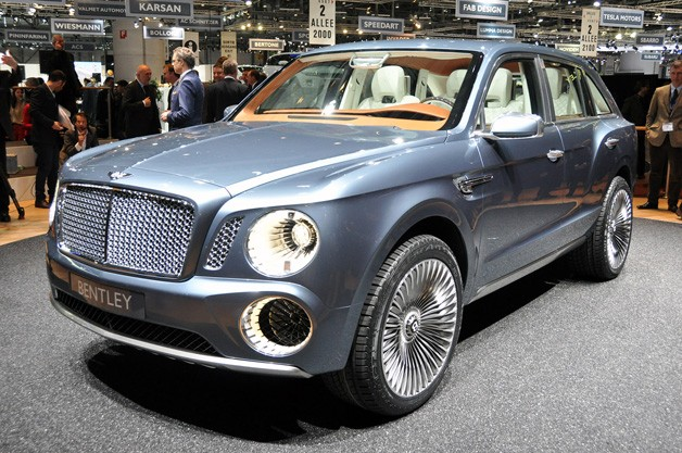 Bentley Debuts Ultra Luxury Suv