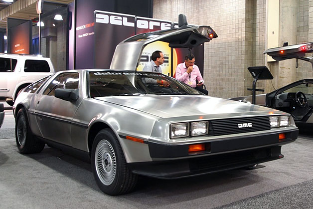 2013 electric delorean debuts this week in new york. Black Bedroom Furniture Sets. Home Design Ideas