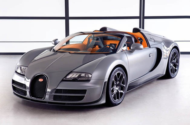 Bugatti Vitesse Allows For Top Speeds and an Open Sky