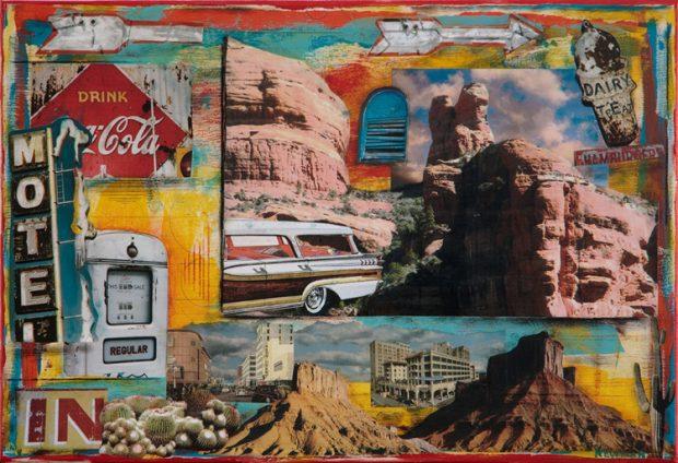 #5051 Desert Outskirts 16x24