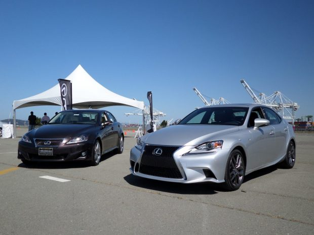 2013 Lexus IS vs. 2014 Lexus IS