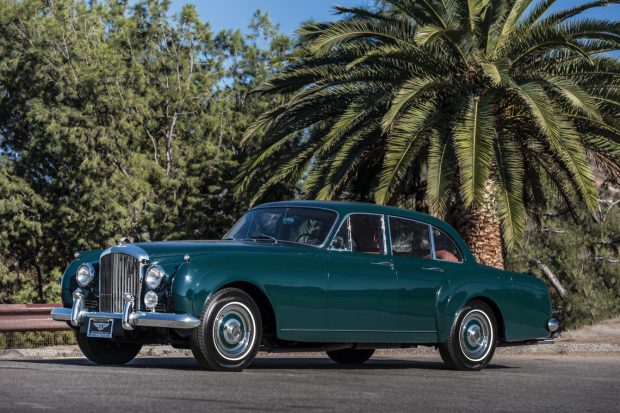 "Gregory Peck's 1961 Bentley S2 Continental ""Mockingbird Bentley"" will cross the auction block on Friday, January 17."
