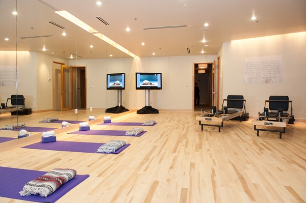 Yoga & Pilates room at Well & Being
