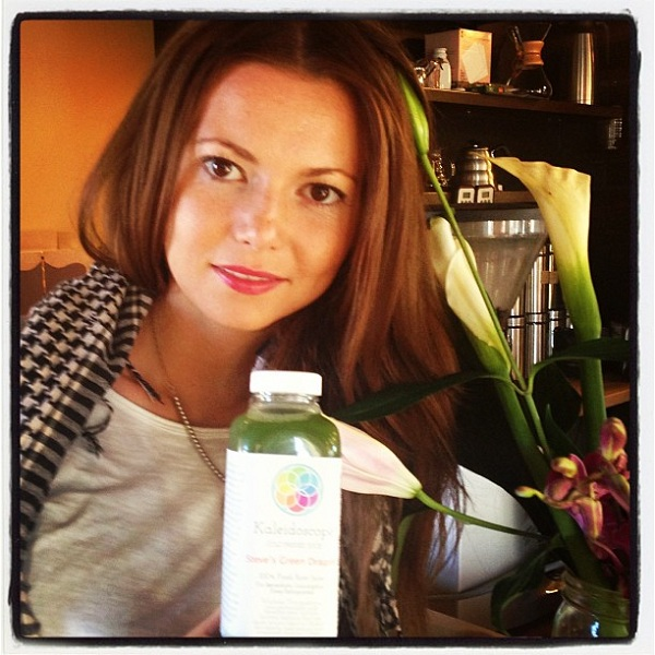 Alexandra Maw, the gal behind Kaleidoscope Juice