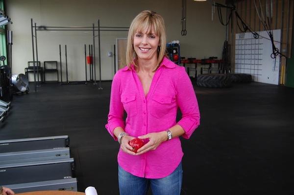 Kim in Gym