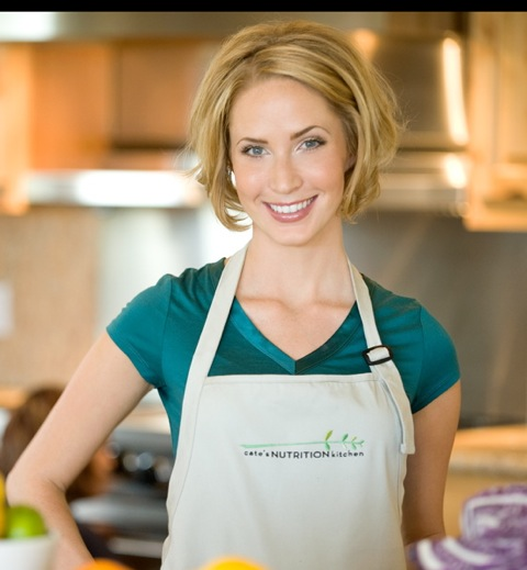 Cate Ritter or Cate's Nutrition Kitchen