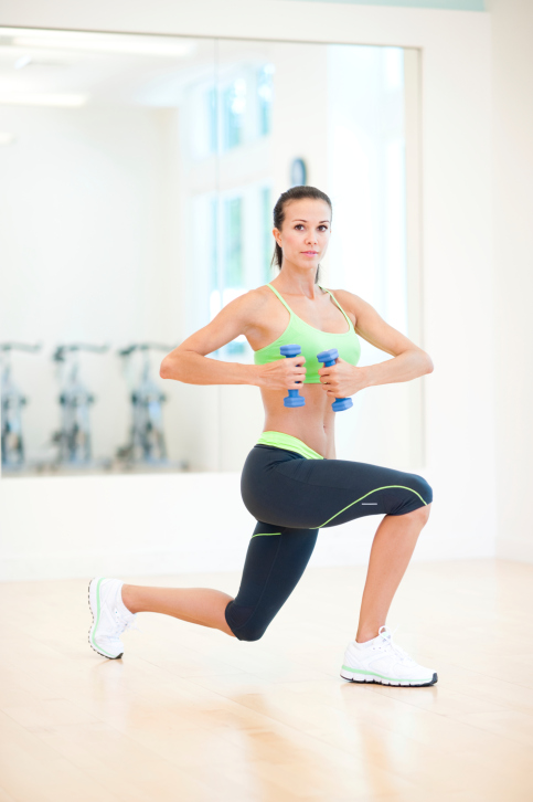 Lunge your way to a better butt