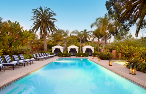 Rancho Valencia's pool rocks!
