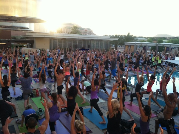 W Scottsdale, the hottest yoga ticket in town