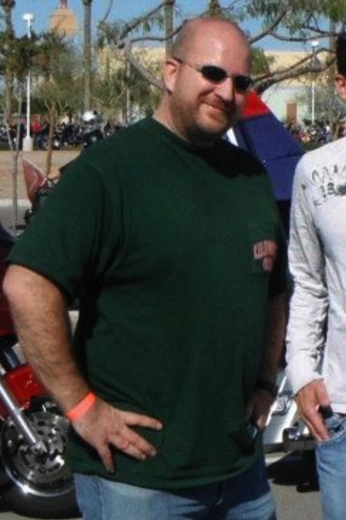 Clint before: 270 lbs