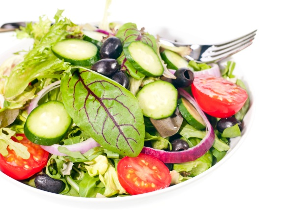 This salad is loaded with lots of healthy goodies