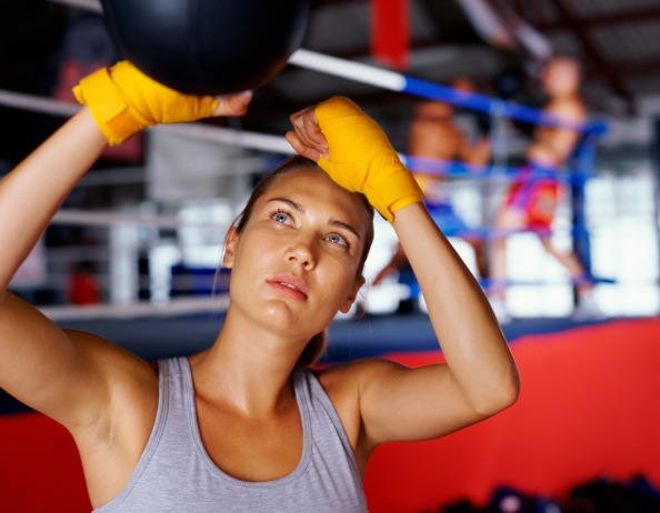 Boxing will get you into the zone