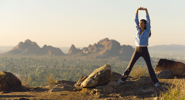 Camelback at sunrise... what a sight!