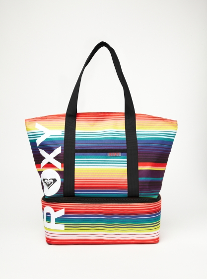 Roxy Chill Out Cooler Tote lets me schlepp in style