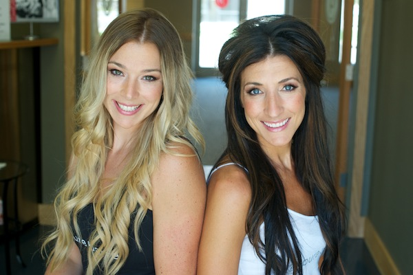 Pure Barre sister duo, Veronica (left) & Marirose (right)