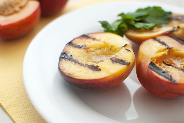 Grill up some peaches for a delish dessert