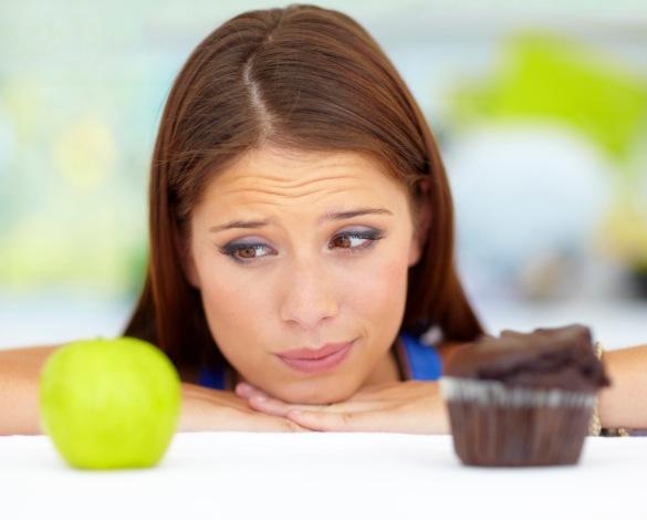 Apple or cupcake?