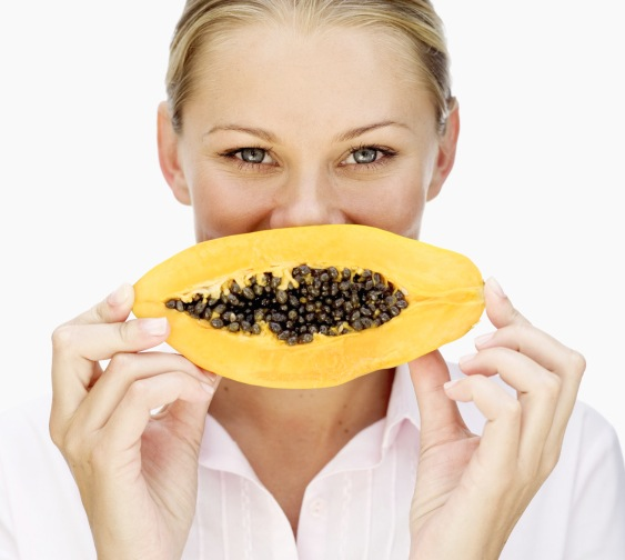 Papaya is a natural detoxer