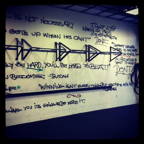 The inspiring quotes at Amenzone work! I push myself harder…