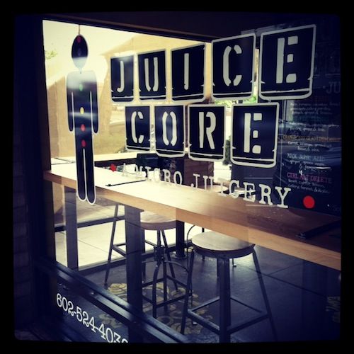 My first time at Juice Core - I likey!