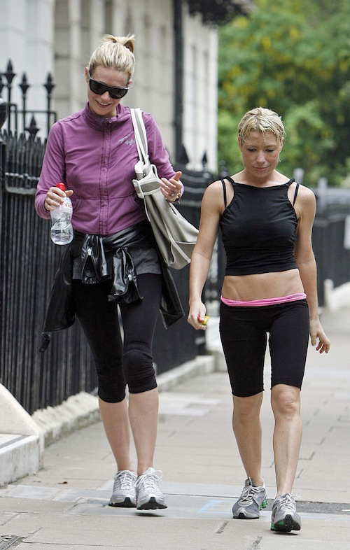 Gwyneth and trainer Tracy Anderson
