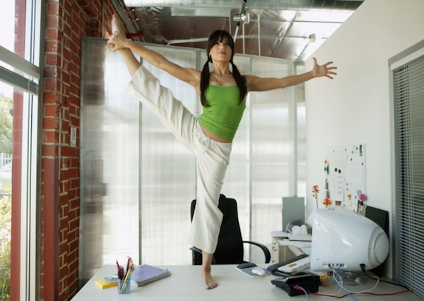 Yoga can counter all that office sitting