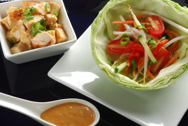 Sunfare's Asian Turkey Lettuce Wraps... yum!