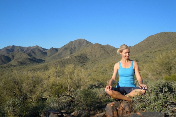 Kate Malloy, yoga teacher at Mountainside Fitness Pavilions