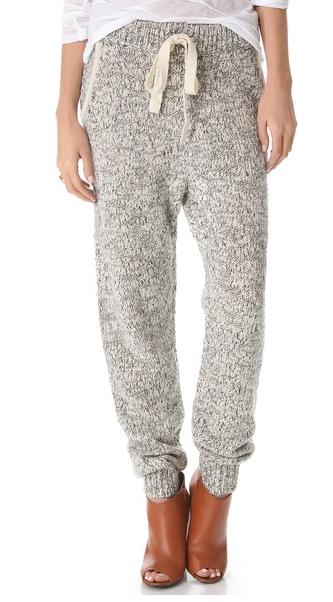 Thakoon Marled Knit Sweatpants, $290