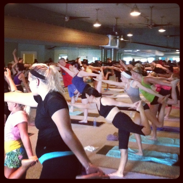 A Must Try Hot Yoga Class