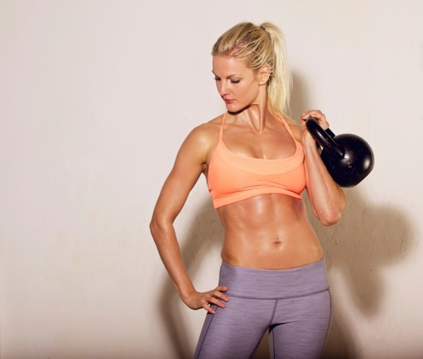 Kettle bells can also be a midsections's best friend