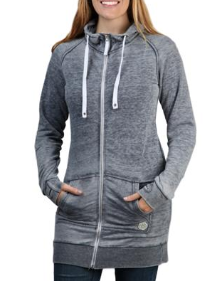 686 Burn-Out Premium Zip Dress Hoody