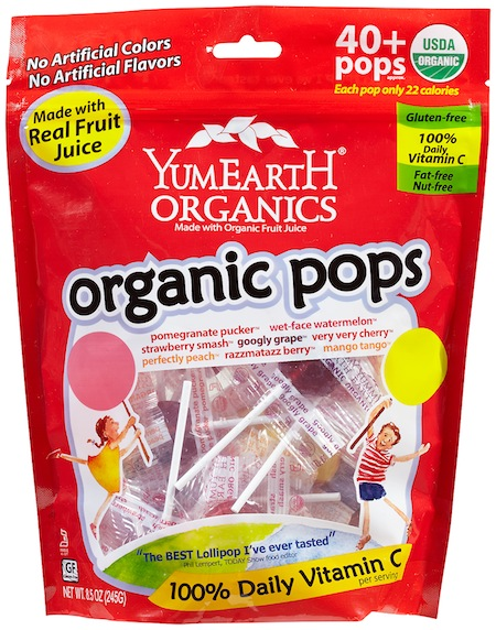 YumEarth Organic Pops