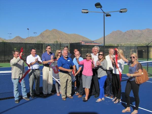 DC Ranch Village Tennis Center Ribbon Cutting