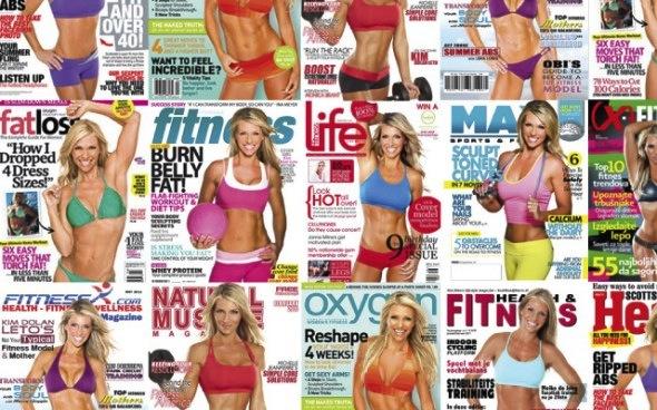 Kim Dolan Leto has graced many magazine covers
