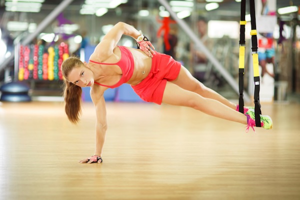 Try the TRX for better abs