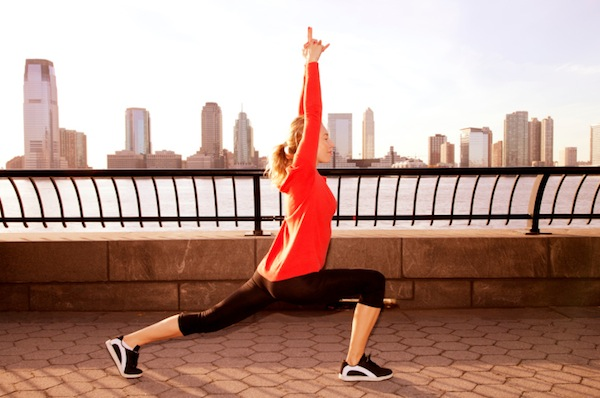 Stretch out those hip flexors first to better engage the glutes during exercise