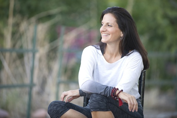 Linda Santopietro, Certified Health Coach, yoga instructor and founder of Garnet Leaf Yoga & Nutrition