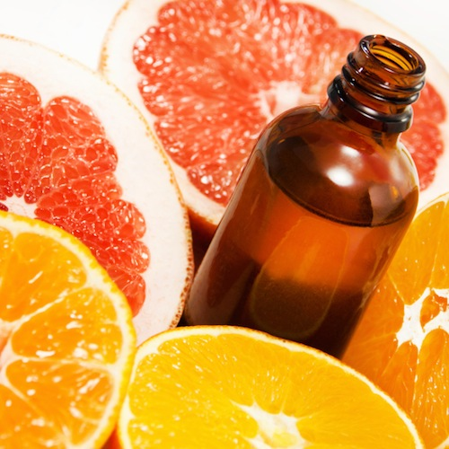 Citrus oils are uplifting to your mind and relaxing to your body