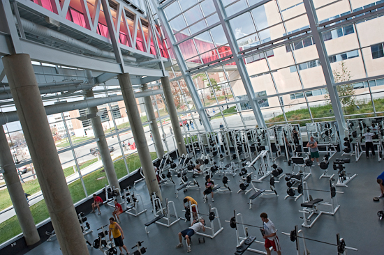 OSU earned the title of #1 fittest college in America