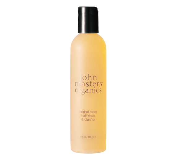 John Masters Organics Herbal Cider Hair Clarifier & Color Sealer, $17