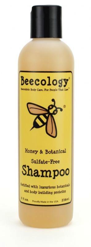 Beecology Honey & Botanical Sulfate-Free Shampoo, $13
